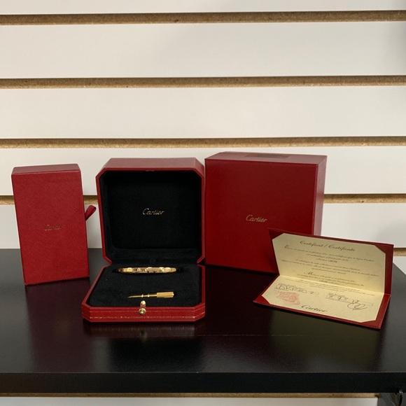 Cartier Jewelry - Cartier Love Gold Small Bracelet